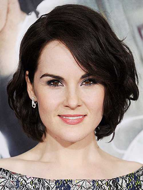 Dark Brunette Bob Hairstyles