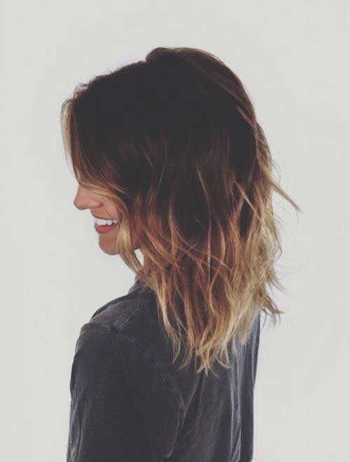 Dark Ombre Bob Hairstyles