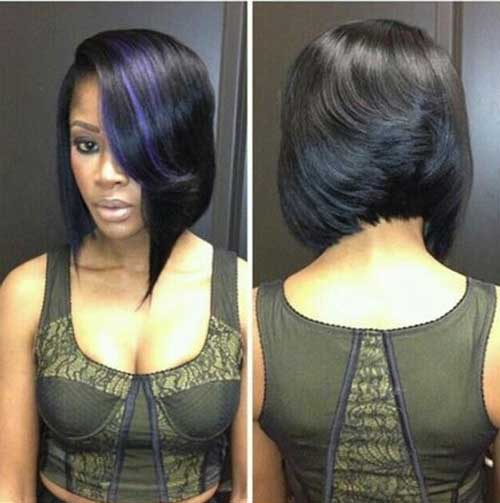 Best Feathered Bob Weave Hairstyles