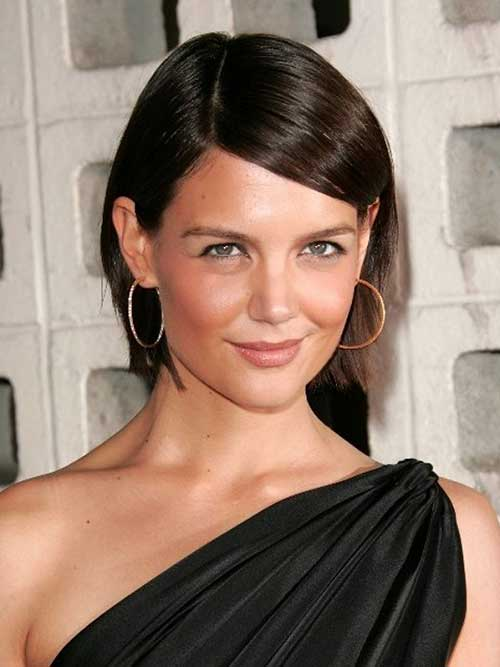 Good Katie Holmes Straight Bob Haircuts