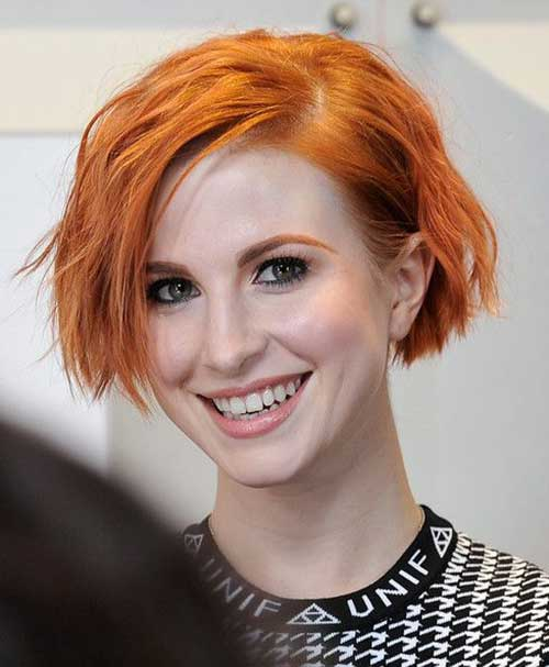 Hayley Williams Bob Hair