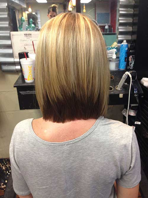 Inverted Long Bob Haircuts Styles