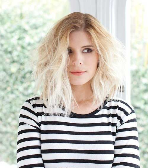 Kate Mara Short Tousled Bob Hair
