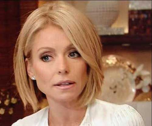 Kelly Ripa Bob Haircut 2015