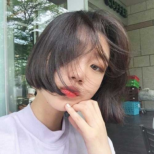 Korean Straight Hair Bob Cuts