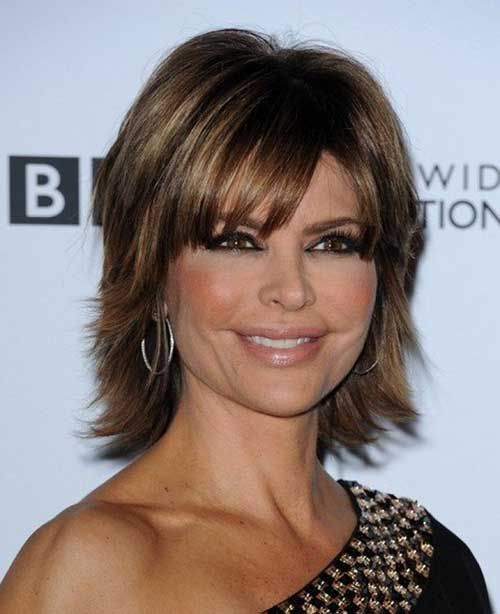Best Layered Bob Haircuts for Women Over 40