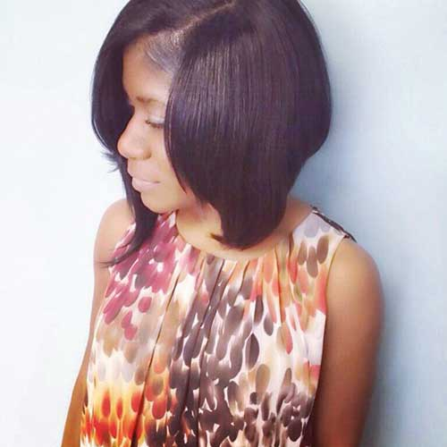 Best Long Inverted Bob for Black Women