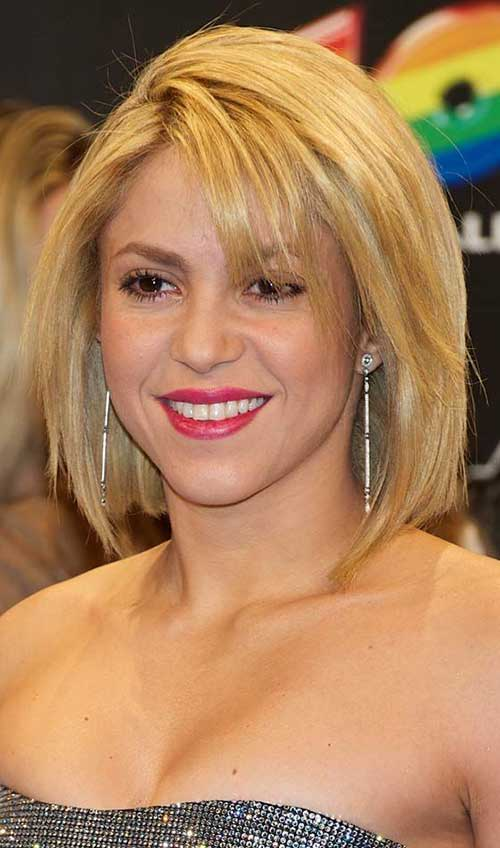 Straight Medium Length Bob Hairstyles