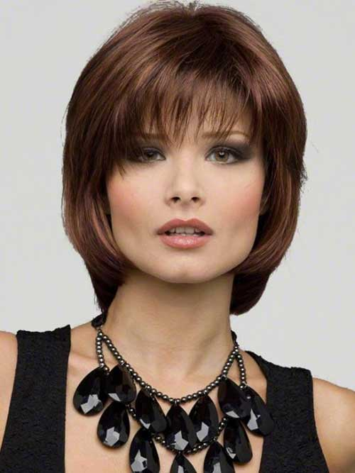 Sensational 15 Medium Length Bob With Bangs Bob Hairstyles 2015 Short Hairstyles For Women Draintrainus