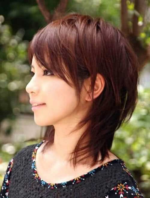 Medium Shaggy Hair Bob Cuts 2015