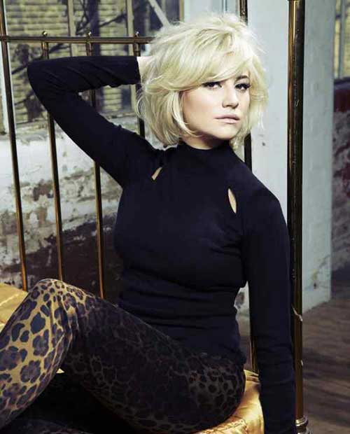 Pixie Lott Best Short Bob Cut