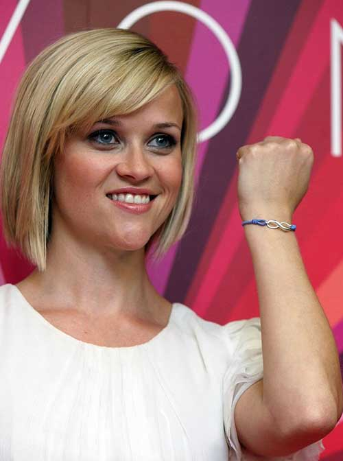 Actress Bob Haircuts Reese witherspoon