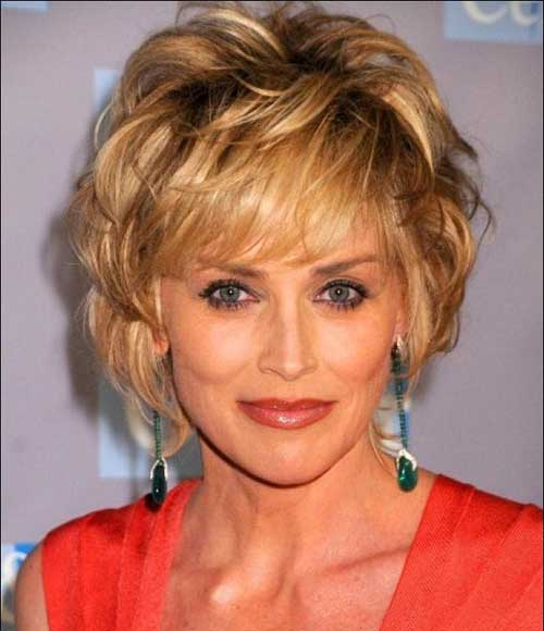 Shag Bob Haircuts for Mature Women 2015