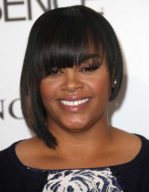 Short Asymmetrical Bob Hairstyles for Black Women