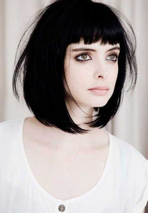 Best Short Bangs Bob
