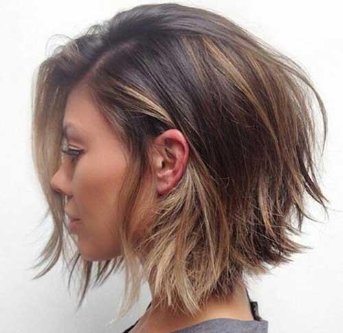 Choppy Short Bob Haircut 2015