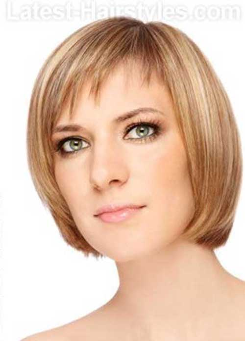 Best Short Bob Hairstyles with Bangs