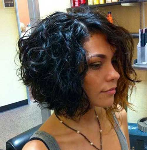 Fine 20 Curly Short Bob Hairstyles Bob Hairstyles 2015 Short Hairstyles For Women Draintrainus