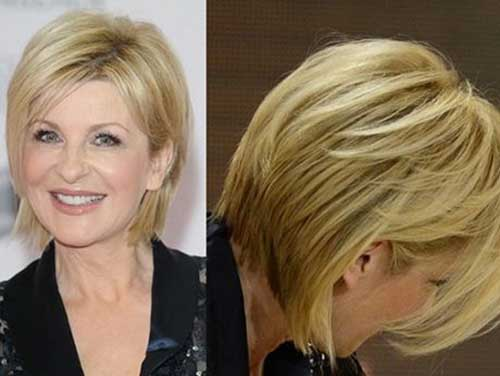Short Bob Hair Over 50