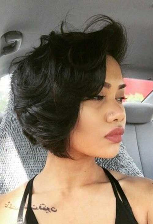 Short Layered Cut Bob for Women