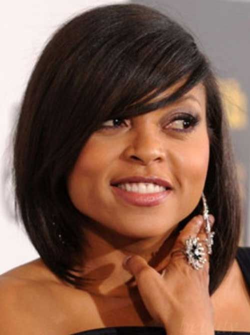 Best Side Bangs Bob Hairstyles for Black Women