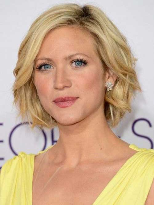 Soft Curly Layered Bob Hairstyles