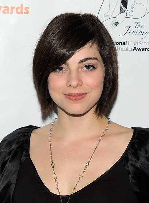 Straight Layered Bob Haircut