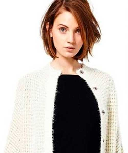 Cute Straight Cut Bob
