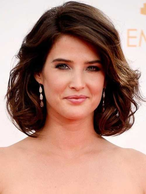 Thick Dark Brown Bob Hairstyles