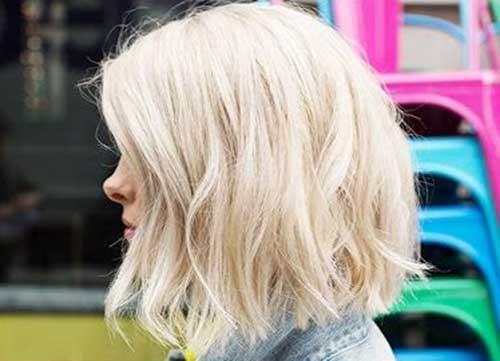 Sensational 25 Best Long Wavy Bob Hairstyles Bob Hairstyles 2015 Short Short Hairstyles Gunalazisus