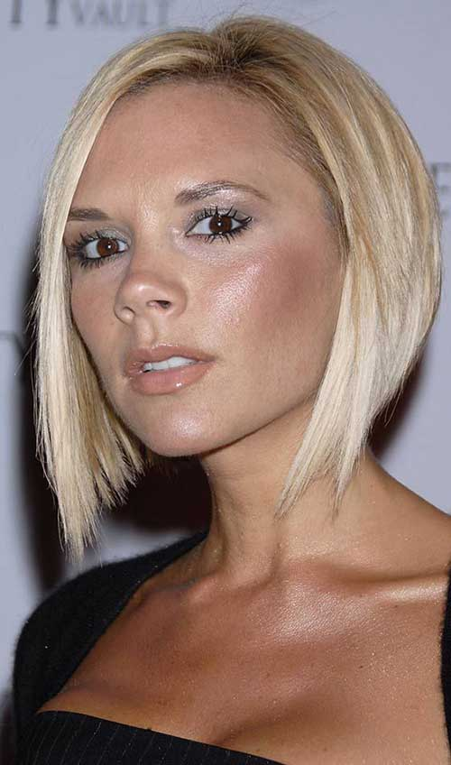 Victoria Beckham Short Hair Bob