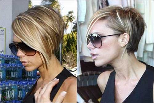 Victoria Beckham Inverted Bob Hair