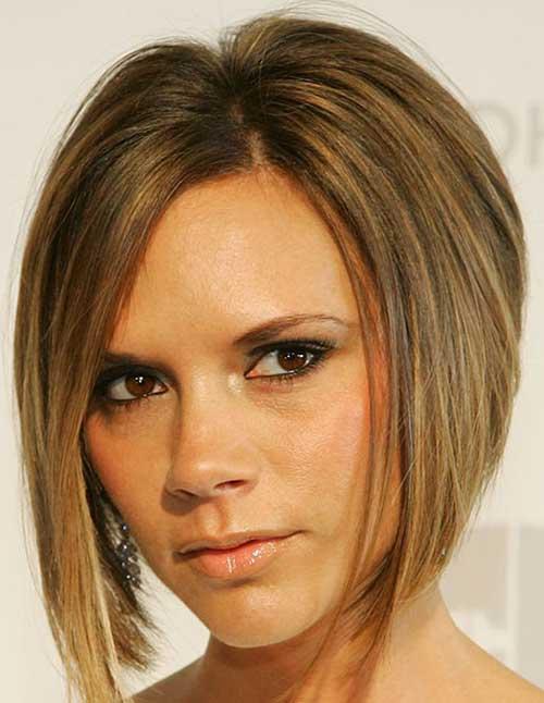Victoria Beckham Straight Hair Bob Styles
