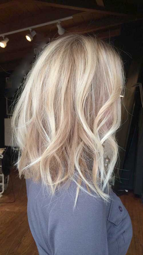 Terrific 30 Blonde Long Bob Hair Bob Hairstyles 2015 Short Hairstyles Hairstyles For Women Draintrainus
