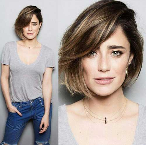 Bob Haircuts for Round Faces-20