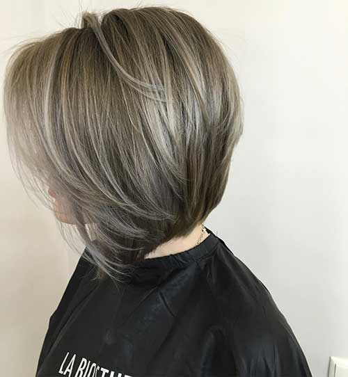 Bob Haircuts for Older Ladies