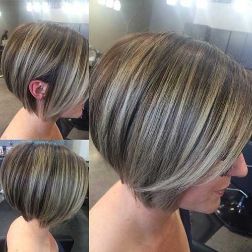Stylish Older Ladies with Bob Haircuts | Bob Hairstyles 2017 - Short Hairstyles for Women