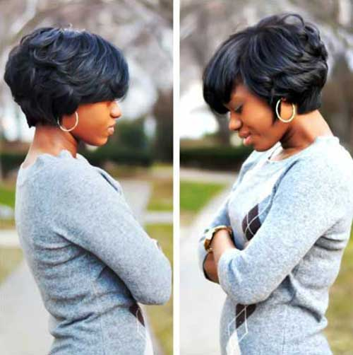 Admirable Black Women Bob Haircuts 2015 2016 Bob Hairstyles 2015 Short Hairstyle Inspiration Daily Dogsangcom