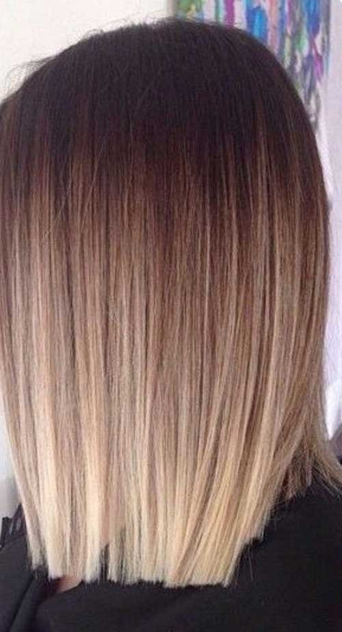 Ombre look braun ua41 messianica - Long bob braun ...