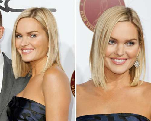 Bobs Hairstyles for Round Faces-14