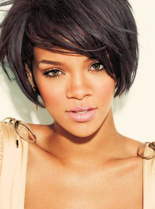 Amazing 15 Best Rihanna Bob Haircuts Bob Hairstyles 2015 Short Hairstyles For Men Maxibearus