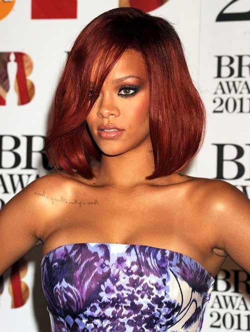 15 Best Rihanna Bob Haircuts Bob Hairstyles 2018 Short