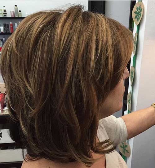 Most Beloved Layered Bob Styles | Bob Hairstyles 2018 - Short Hairstyles for Women