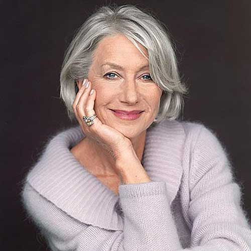 Bob Haircuts for Older Women-17