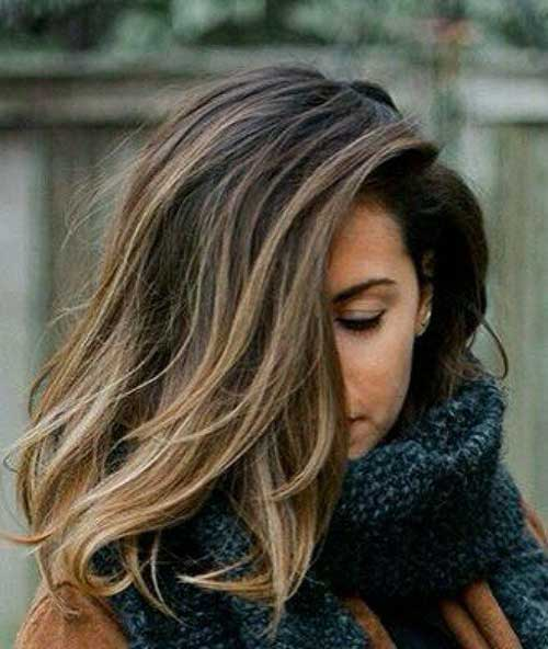 Long Bob Hair Styles-19