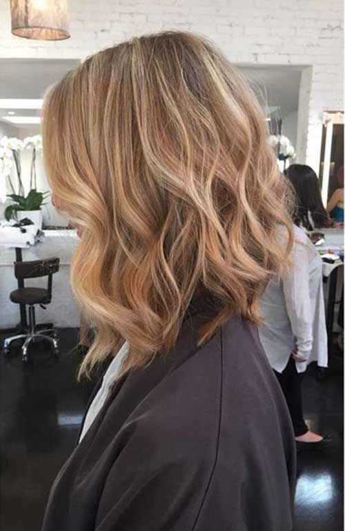 Long Bob Hair Styles-21