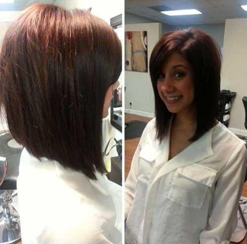 Brunette Bob Hairstyles 2015-24