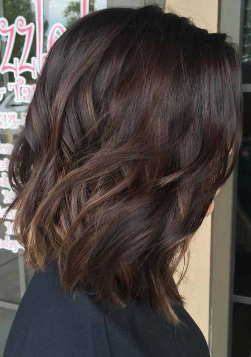 Dark Brown Bob Hair-6