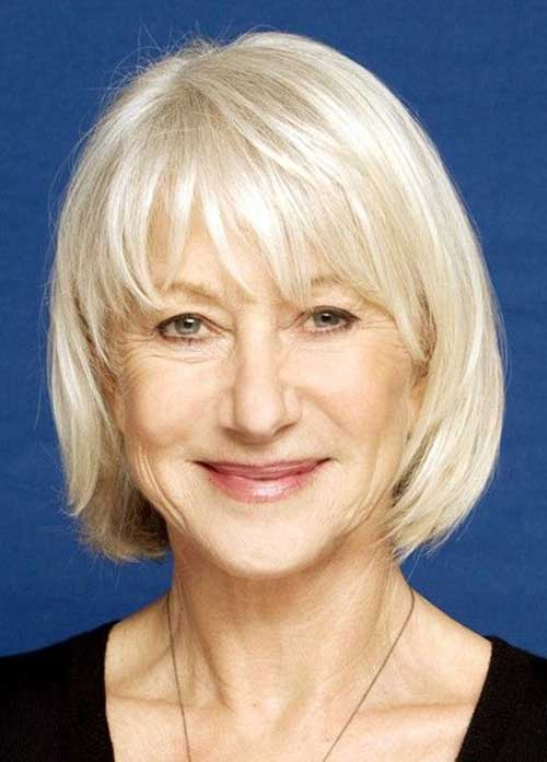 20 Short Bob Hairstyles for Women Over 50 | Bob Hairstyles