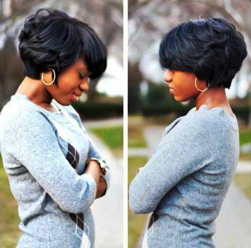 Black Women Short Bobs-7